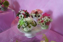 Cup Cakes fleuries