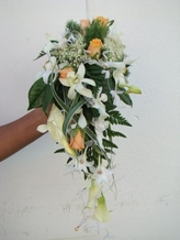Bouquet cascade